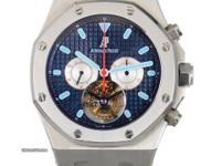 Retail Price:: $235,800.00 The Royal Oak Tourbillon -