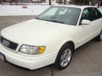 1997 Audi A6 quattro. Pearl white with gray interior,
