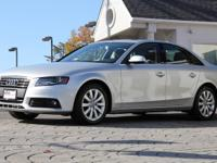 2012 Audi A4 2.0 TFSI Quattro Tiptronic Sedan  *Ice
