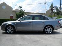 This 2007 Audi A4 4dr 200hp, 2.0 liter 4-cyl turbo