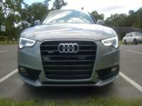 2015 Audi A5 premium coupe in Tornado Gray metallic