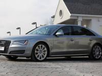 2012 Audi A8 L     *Quartz Gray Metallic Exterior with