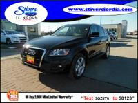 Great buy on this vehicle....2010 Audi Q5 3.2 quattro