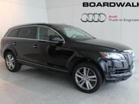 This is a Audi Q7 for sale by Boardwalk Audi. The