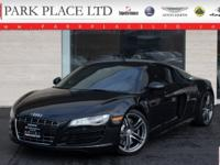 Immaculate, low-mileage 2012 Audi R8 5.2 Coupe. 5.2L