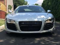 Beautiful 2008 Audi R8 4.2L Silver Features: * 8,070