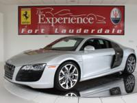 2010 Audi R8 5.2 FSI quattro MT6 CoupeWith only 6,596