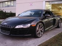 2011 Audi R8 5.2 Quattro- 6-Speed- Rare!Take a look at