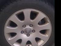 i have almost perfect audi rims that came of my a6. i