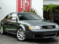 This 2003 Audi RS6, finished in optional Daytona Grey