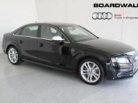 This is a Audi S4 for sale by Boardwalk Audi. The