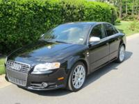 Selling my 2006 Audi S4. This is a very fast car, it