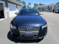 The Audi S4 is a unique and rare vehicle that has