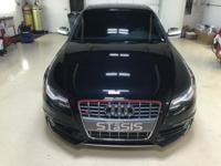 2011 Audi S4 Quattro Sedan Phantom Black Exterior over