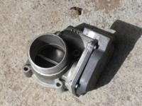 This is a throttle body off a 2005 Audi A4 QUAT 2.0.