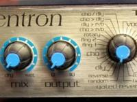 Very good little effects processor for recording or