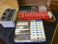 65-75 New Audio Tapes--many still in wrappers. See