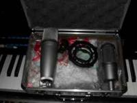 I'm selling a nice At3035 Condenser Microphone. Comes