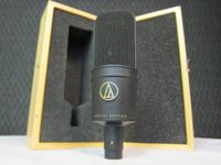 We have an Audio Technica condensor mic for sale.