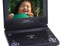 Audiovox D1788 portable DVD player offers you the