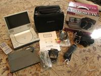 Audiovox portable DVD player, $40 firm; like-new