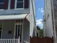 "REAL ESTATE AUCTION ""ROW HOUSE ON MARKET STREET IN"