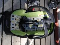 I have the Aura Evenflo stroller/carseat combo.