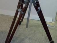 This is a film tripod from Auricon Berndt - Bach . INC.