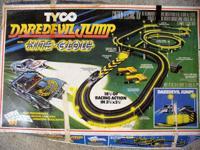 AURORA, AFX, TYCO, race set 1 - Tyco Daredevil jump