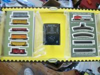 AURORA POSTAGE STAMP TRAIN SET #4724 ASKING $250.00 OR