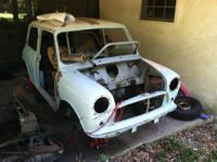 1975 mini for sale. Requirements to be reassembled. Was