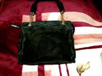 A Black Authentic Chanel Handbag Made in Italy , Serial