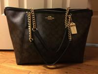 I have a brand new coach bag w/matching full-size