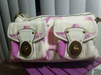 Authentic Coach handbag, purchased @ Coach store. White