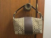 Authentic Coach Mini Signature Hobo handbag  $50 or