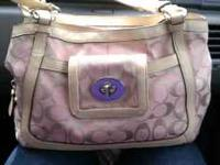 I have a 1 year old authentic coach purse. I bought it