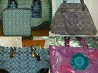 I have 3 beautiful Authentic Coach handbags for sale.