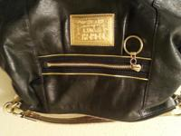 """Pre owned leather """"authentic"""" coach purse. In new-like"""