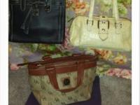 Beautiful Designer Handbags...100% Authentic(5 more