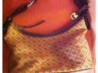 Authentic Dooney & Burke Bag with slight wear on the