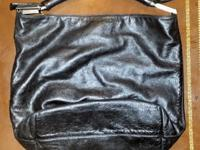 Authentic Black Fendi Leather Bucket PurseThis purse is