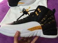 Authentic Jordan 12 wings sizes 8-13 brand new. Usps
