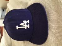 Authentic LA Dodgers Hat, navy blue. Originally