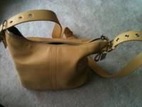 Brand new authentic leather Coach handbag for sale