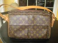 100% Authentic Louis Vuitton Hudson in excellent