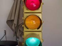 This a 100% authentic 70 inch working stoplight