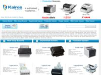 Kairee Scanners is authorized reseller of high speed