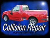 Auto body repair. I repair collisions, dents,