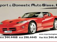 Hi! We are doing auto glass business in Sacramento for