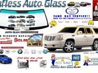 NEED AN AUTO GLASS REPLACEMENT?? AS SOON AS POSSIBLE IF